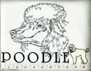 Classic Line White Poodle T-Shirts
