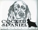 Classic Line Black Cocker Spaniel T-Shirts