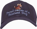 Generic Line Proud Owner of a Rescued Dog Cap