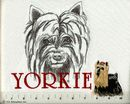 Classic Line Yorkie Tote Bags
