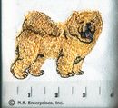 Breed Icon Line Chow Chow Pawprint Hand Towels