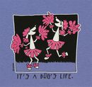It's A Dog's Life T-Shirt - Cheerleading