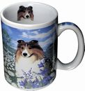 Artistic Line Shelti 13oz Coffee Mug